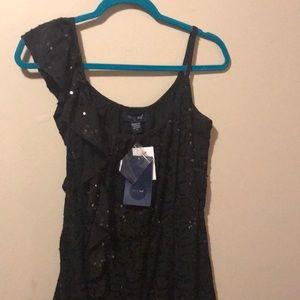 Sexy little black dress, embellishments & sequins